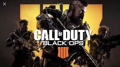 Call of Duty Black Ops 4 -  1 FULL PRESTIGE LEVEL UP PS4