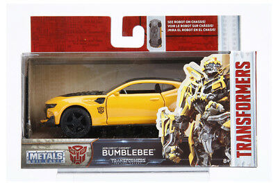 TRANSFORMERS Last Knight Bumble Bee 2016 Chevy Camaro Diecast 132 Jada 5 inch