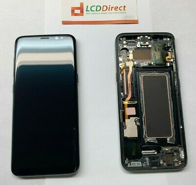 Samsung Galaxy S8 OEM LCD Display Touch Screen Digitizer Replacement USA- SBI