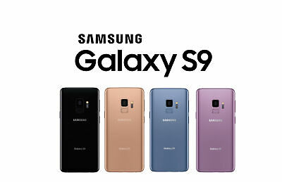 Samsung Galaxy S9 64GB  GSM Unlocked 5-8 Smartphone Sprint T-Mobile AT-T