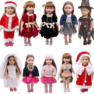 USA Beautiful Doll Shoes Fits 18 Inch Doll and Other 18 Inch Doll Clothes Dress