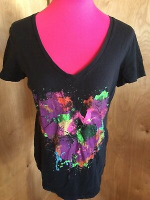 Wet Seal Graphic Heart Top Size Large