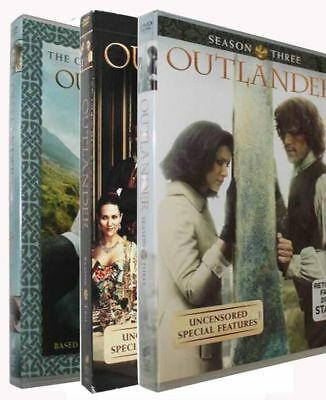 Outlander Complete Seasons 1 2 - 3 DVD SET 1-3 Region-1