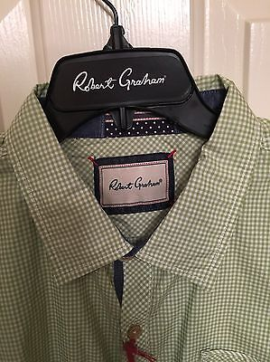 NWT Mens Robert Graham Long Sleeve Sacramento Shirt Size 2XL
