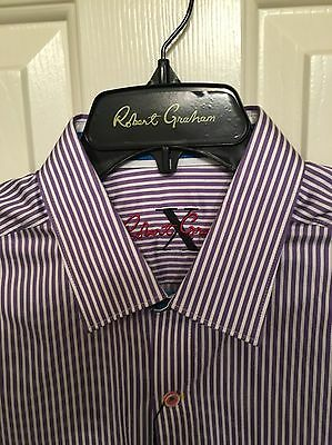 NWT Mens Robert Graham Long Sleeve Excalibur Shirt Size Small