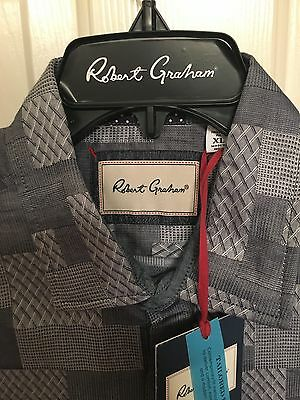 NWT Mens Robert Graham Long Sleeve Sutherland Fall Shirt Size Small