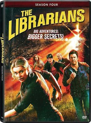 BRAND NEW SEALED THE LIBRARIANS COMPLETE SEASON 4 FOUR 4TH DVD PRE-ORDER