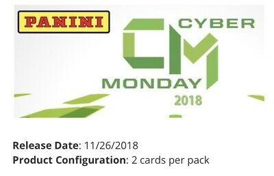 2018 Panini Cyber Monday  10- Pack Lot 8 Thin 2 Thick-  1126 Release