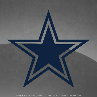 Dallas Cowboys NFL Vinyl Decal Sticker - 4 and Larger - 30- Color Options