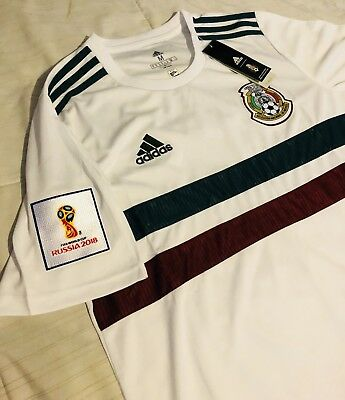 Mexico Away Soccer Jersey Size 2xl With 2018 World Cup Patch