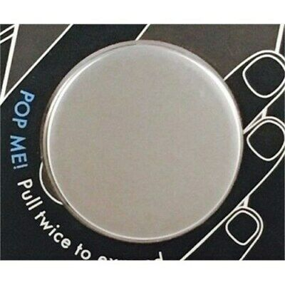 PopSockets Aluminum Silver Phone Grip and Stand