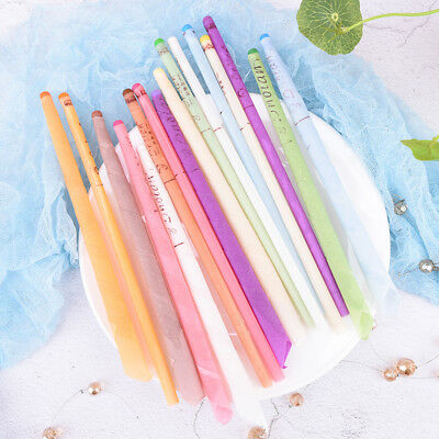 10Pcs Earwax Candles Hollow Blend Cones Beeswax  Ear Cleaning Massage Treat new-