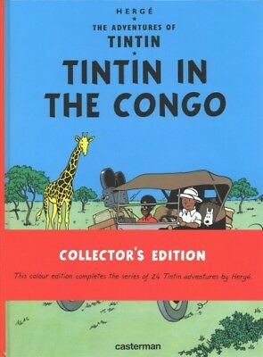 Tintin in the Congo Hardcover by Herge Like New Used Free shipping in the US