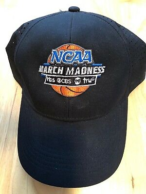 March Madness NCAA College Basketball Hat Cap  NWTs CBS TBS TNT TruTV Nike