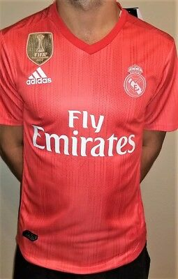 New Real Madrid 1819 jersey Authentic Match Jersey Away Red 10 Modric