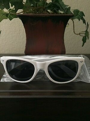 March Madness Final Four Basketball Promotional White Sunglasses