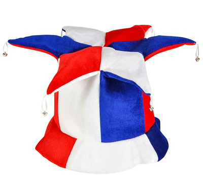 Patriotic Jester Top Hat 4th of July Decoration