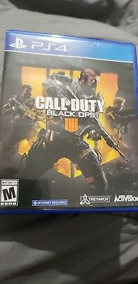 Call of Duty Black Ops 4 Game for PS4 USED