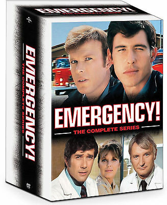 Emergency Complete TV Series DVD Seasons 1 - 6 - Final Rescues Box Set