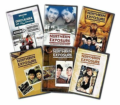 Northern Exposure Complete Series Seasons 1-6 DVD Set  26 disc-