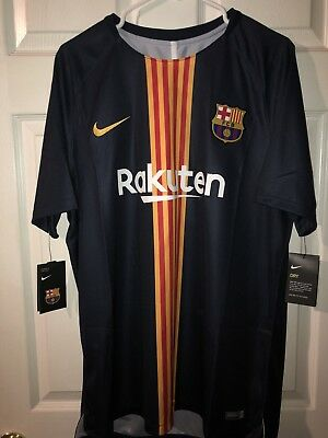 Nike FC Barcelona Pre-Match Training Jersey 2018 Authentic 100