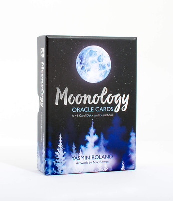Moonology Oracle Cards  A 44-Card Deck and Guidebook