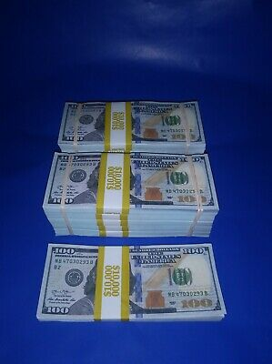 Prop Money 110000 Highly Realistic Filler Prop Stacks Great for Filming