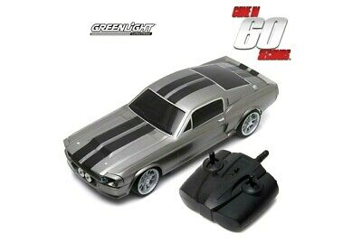 Greenlight 1967 Ford Mustang Eleanor 118 Scale Model Radio Control Car 91001