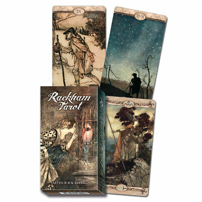 Arthur Rackham Tarot Deck 2019 Cards w Booklet NEW IN BOX by Lo Scarabeo