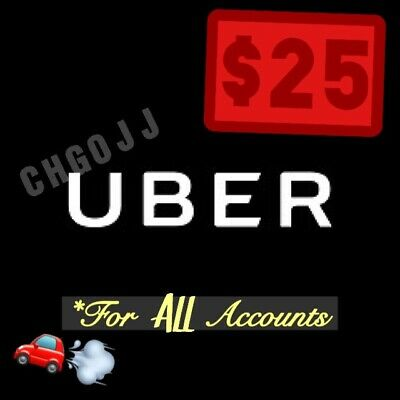 25 In Uber Codes 5 x 5 Off a Ride Good For ALL Riders