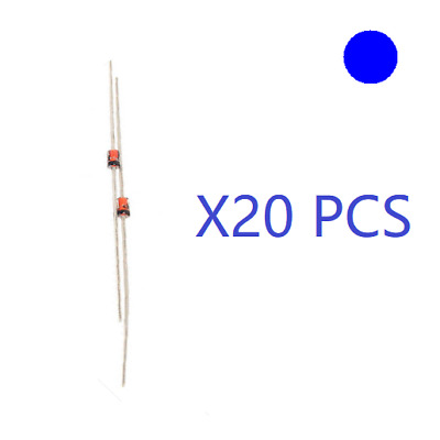 20X NEW ZENER DIODE 1N4751 1N4751A 1W 30V DO 41 GLASS CASE WHOLESALE