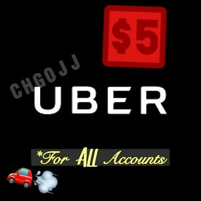 5 Uber Code  5 Off 1 Ride - WORKS 4 ALL ACCOUNTS