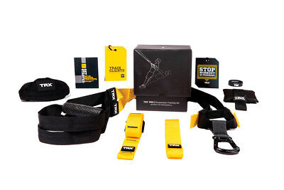 TRX PRO3 Suspension Trainer Kit Professional Fitness Workout Straps Home Gym