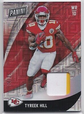 2018 Panini Black Friday Tyreek Hill Patch Relic 2425  Chiefs