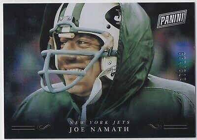 2018 Panini Black Friday Joe Namath 199 Jets