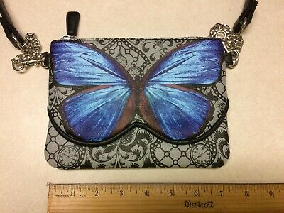 Disney Alice through the Looking Glass Butterfly Purse Nice EUC