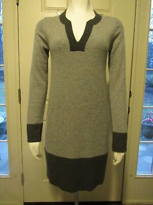Boden Dress Gray 100 Cashmere Sweater Career Casual US 6UK10 Kate Middleton