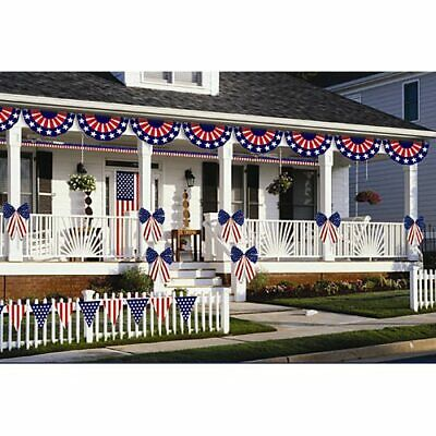 Amscan Patriotic Fourth of July Party Ultimate Outdoor Decorating Kit 12