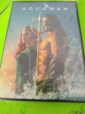 Aquaman DVD 2018 Brand New