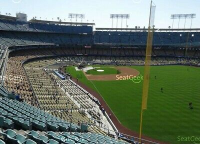 Two Dodger Tickets Opening Day 3282019