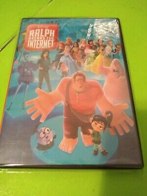 Ralph Breaks The Internet DVD2019 Brand NEW