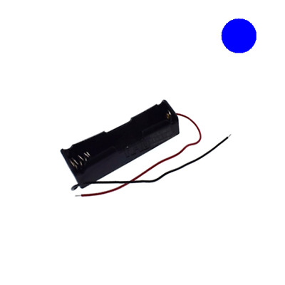 LITHIUM BATTERY 18650 BATTERY CASE HOLDER WITH LINE 75X20X13MM F SINGLE 18650