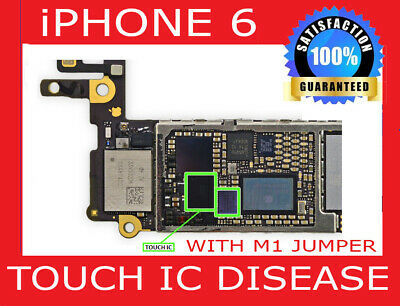 Repair Service For iPhone 6 Plus Touch IC  Disease No Touch And Grey Bars Fix