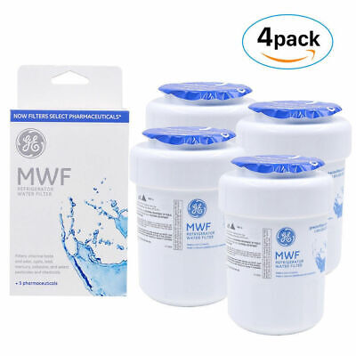 1234Pack GE MWF MWFP GWF 46-9991 General Electric Smartwater Water Filter