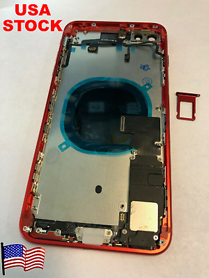 Replacement Back Housing Battery Cover Frame Assembly Glass iPhone 8 Plus X XR