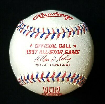 1997 ALL STAR GAME OFFICIAL RAWLINGS BASEBALL Jacobs Field Cleveland Indians