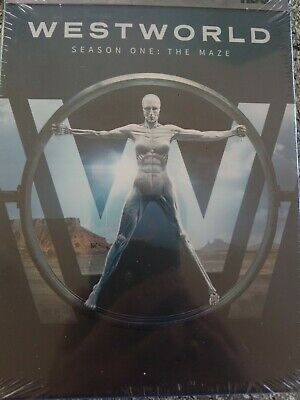 Westworld The Complete First Season 1 DVD 2017 3-Disc Set Free Shipping