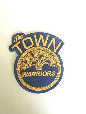Golden State Warriors The Town NBA Jersey Patch Iron On Sew Hat Hoodie Jacket