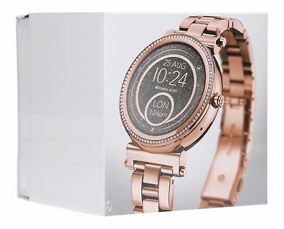 Michael Kors Access Unisex Sofie Rose Gold Plated Smart Watch MKT5022