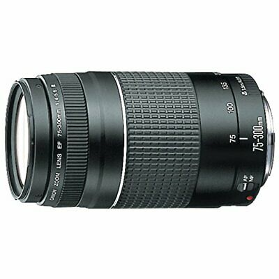 Canon EF 75-300mm f4-5-6 III Telephoto Zoom Lens for Canon SLR Cameras